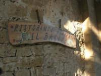 Baglio Isonzo: insegna ristorante - 3 marzo 2008  - Scopello (1022 clic)