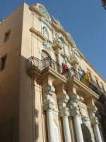 particolare del Palazzo Senatorio o Loggia dell'Orologio - 25 maggio 2008  - Trapani (905 clic)