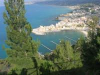 panorama dal Belvedere - 1 maggio 2007  - Castellammare del golfo (703 clic)