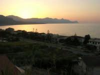 il sole è appena tramontato sul Golfo di Castellammare - 3 agosto 2007  - Alcamo marina (947 clic)