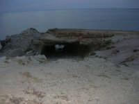 Grotta Perciata a sera - 23 settembre 2007   - Terrasini (2473 clic)