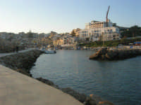 imboccatura del porto - 6 aprile 2008   - Marinella di selinunte (3859 clic)