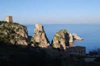 faraglioni e torri di avvistamento - 3 marzo 2008  - Scopello (868 clic)