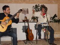 Concerto NAPOLINCANTO - Domenico De Luca (chitarra solista e percussione), Gianni Aversano (voce e chitarra) - 10 dicembre 2009   - Alcamo (1608 clic)