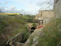 Riserva Naturale Orientata Saline di Trapani e Paceco - Mulino Maria Stella, sec. XIX - particolare - 1 maggio 2009   - Trapani (2111 clic)