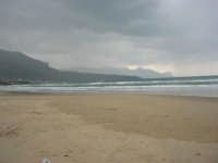 Spiaggia Plaja - quando il mare è in burrasca - 22 marzo 2009  - Castellammare del golfo (1123 clic)