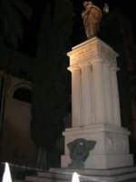 Monumento ai Caduti nella Grande Guerra - 2 febbraio 2008   - Alcamo (1064 clic)