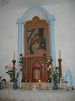 La Madonna di lu Tribonu - Cappella dedicata alla Madonna del Ladro Buono (Via per Monte Bonifato): all'interno l'immagine dell'Addolorata - 27 agosto 2007    - Alcamo (2619 clic)