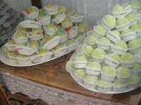 Vetrina con esposizione di dolci tipici - 22 maggio 2009  - Erice (4890 clic)