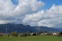 montagne innevate ad ovest -13 febbraio 2009   - Alcamo (3170 clic)