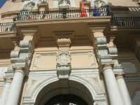 particolare del Palazzo Senatorio o Loggia dell'Orologio - 25 maggio 2008  - Trapani (947 clic)