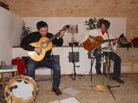 Concerto NAPOLINCANTO - Domenico De Luca (chitarra solista e percussione), Gianni Aversano (voce e chitarra) - 10 dicembre 2009  - Alcamo (1590 clic)