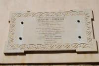 Casa Garibaldi - marmo a ricordo di Giuseppe Garibaldi e della vittoria del 16 maggio 1860 - 4 ottobre 2007  - Calatafimi segesta (983 clic)