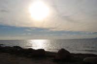 riflessi di sole sul mare - 27 gennaio 2008   - Marausa lido (2004 clic)