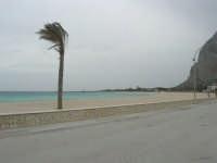 lungomare - la spiaggia ed il mare spazzati dallo scirocco - 29 marzo 2009  - San vito lo capo (1464 clic)
