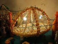 All'interno del Castello dei Conti di Modica, Mostra Artigianato a cura di Calandra Carlo - Decorazioni su vasi, bottiglie ecc. - 26 dicembre 2006   - Alcamo (1031 clic)