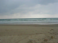 Spiaggia Plaja - quando il mare è in burrasca - 22 marzo 2009  - Castellammare del golfo (1620 clic)