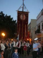 2° Corteo Storico di Santa Rita - Stendardieri di Petralia La Suprana - 17 maggio 2008   - Castellammare del golfo (808 clic)