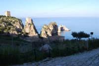 faraglioni, torri di avvistamento e tonnara - 3 marzo 2008  - Scopello (874 clic)