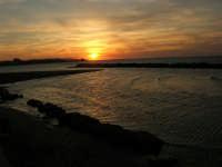 tramonto sul Lungomare Dante Alighieri - 18 settembre 2008   - Trapani (783 clic)