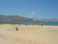 zona Plaja - spiaggia, mare e monti del golfo di Castellammare - 22 agosto 2008  - Alcamo marina (915 clic)