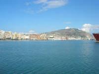 porto, città e monte Erice - 28 settembre 2008  - Trapani (845 clic)