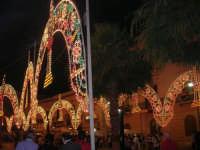 Festeggiamenti Maria SS. dei Miracoli - Illuminazione straordinaria in Piazza Ciullo - 20 giugno 2008  - Alcamo (719 clic)