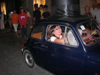 Notte Bianca - Si festeggiano i 50 anni della mitica  500: sfilata nel corso IV Aprile (cassaru strittu)- (3)- 10 agosto 2007  - Alcamo (1101 clic)