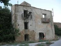 ruderi del paese distrutto dal terremoto del gennaio 1968 - 2 ottobre 2007  - Poggioreale (882 clic)