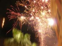 notte di capodanno in piazza Ciullo - spettacolo pirotecnico - 1 gennaio 2009  - Alcamo (2762 clic)