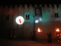 Festeggiamenti Maria SS. dei Miracoli - La Festa del Paradiso - L'Assalto al Castello - Piazza Castello - 20 giugno 2008  - Alcamo (468 clic)