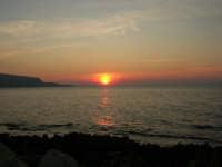 Golfo di Bonagia - tramonto - 12 ottobre 2008   - Cornino (749 clic)