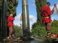 Processione della Via Crucis con gruppi statuari viventi - 5 aprile 2009  - Buseto palizzolo (1620 clic)