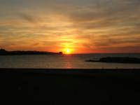 tramonto sul Lungomare Dante Alighieri - 18 settembre 2008   - Trapani (721 clic)