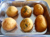 arancine alla ricotta, agli spinaci ed al prosciutto - 12 dicembre 2009  - Alcamo (4670 clic)