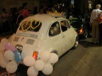 Notte Bianca - Si festeggiano i 50 anni della mitica  500: sfilata nel corso IV Aprile (cassaru strittu)- (6)- 10 agosto 2007  - Alcamo (1234 clic)