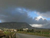 panorama e Monte Erice - 1 febbraio 2009  - Erice (2941 clic)