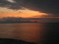 dalla Spiaggia Maidduzza dopo il tramonto - 23 settembre 2007   - Terrasini (1439 clic)