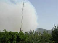 Incendio sul Monte Bonifato (1) - 23 agosto 2007  - Alcamo (748 clic)