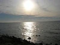 riflessi di sole sul mare - 27 gennaio 2008   - Marausa lido (1374 clic)