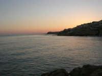 il mare al crepuscolo - 1 agosto 2007  - Marinella di selinunte (1254 clic)