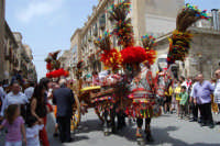 sfilata carretti siciliani - corso 6 Aprile - 18 maggio 2008  - Alcamo (796 clic)