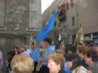 Processione in onore di Maria Santissima dei Miracoli, patrona di Alcamo - Corso VI Aprile - 21 giugno 2009   - Alcamo (2820 clic)