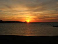 tramonto sul Lungomare Dante Alighieri - 18 settembre 2008   - Trapani (786 clic)