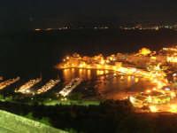 panorama notturno della città, del porto e del golfo - 19 settembre 2007   - Castellammare del golfo (593 clic)