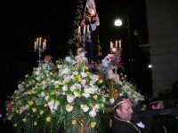 Venerdì Santo: processione del Cristo Morto e dell'Addolorata - piazza Ciullo - 21 marzo 2008   - Alcamo (976 clic)