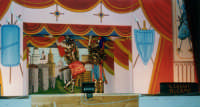 Opera dei Pupi di SALVATORE OLIVERI, nipote del grande puparo Gaspare Canino - Teatro Euro - 25 ottobre 1998  - Alcamo (1017 clic)