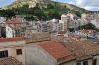 uno scorcio della città vista dal castello - 6 gennaio 2009   - Salemi (2936 clic)