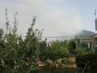 Incendio sul Monte Bonifato (4) - 23 agosto 2007  - Alcamo (836 clic)