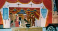 Opera dei Pupi di SALVATORE OLIVERI, nipote del grande puparo Gaspare Canino - Teatro Euro - 25 ottobre 1998  - Alcamo (965 clic)